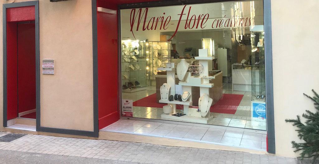 La Boutique-Atelier à Aubagne de Marie-Flore Créations